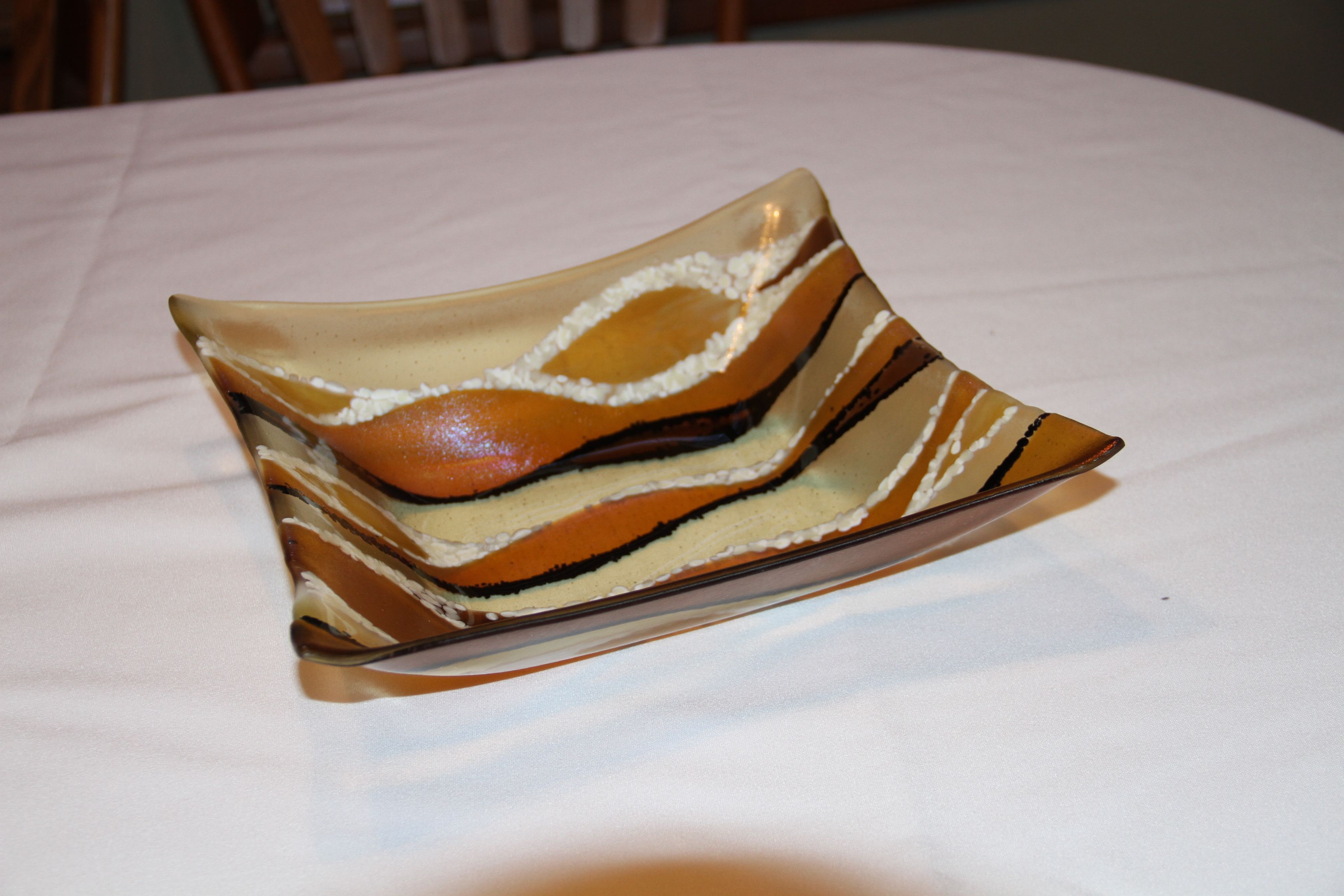 12 X 12 bowl, 4 inches deep