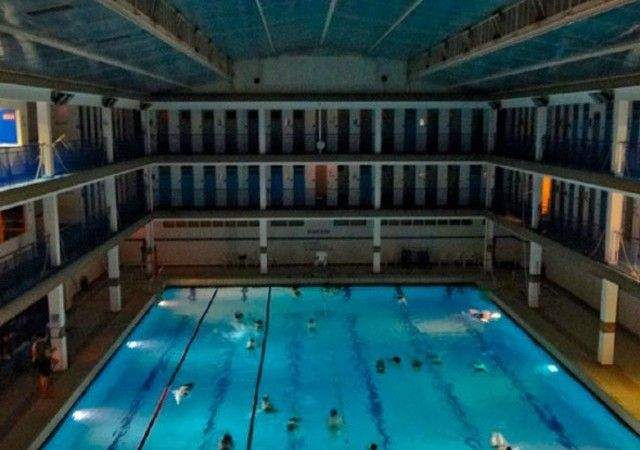 Piscine Pontoise What Could Be More Divine Than A Midnight Swim In