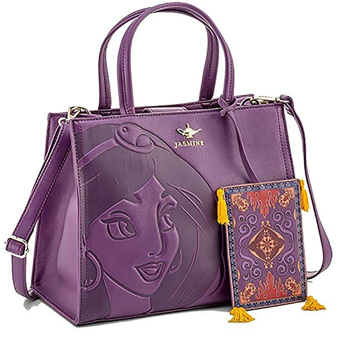 9738cf0e4139 Disney Discovery- Loungefly Jasmine Embossed Purse