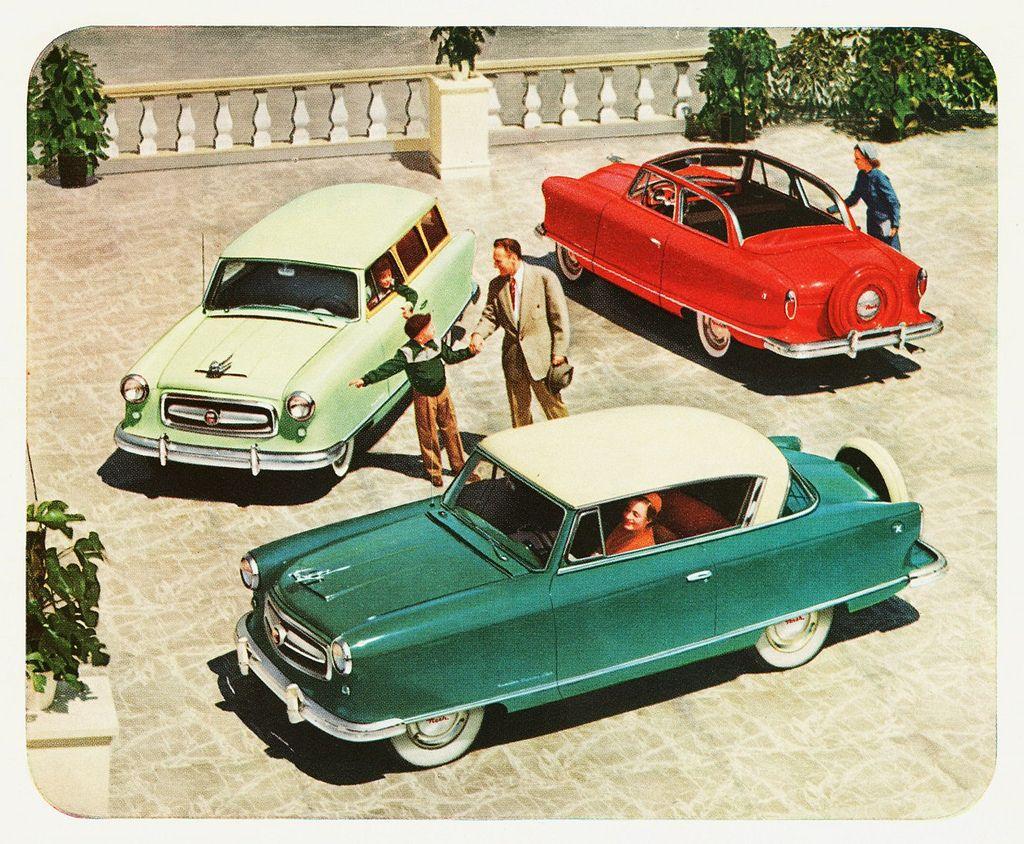 1953 nash | 1953 Nash Rambler Line