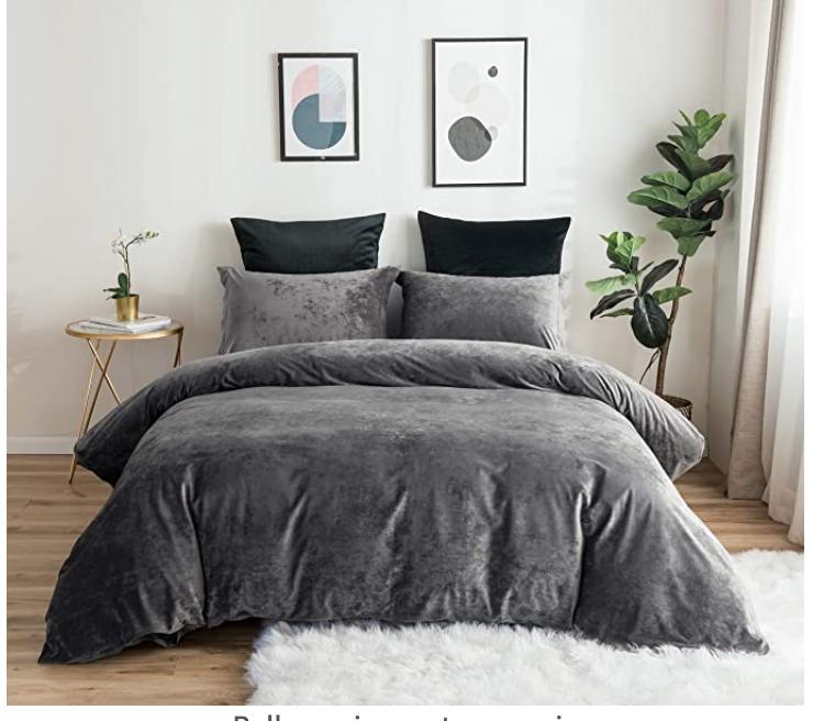 Amazon 65 Velvet Duvet Duvet Cover Sets Luxury Bedding