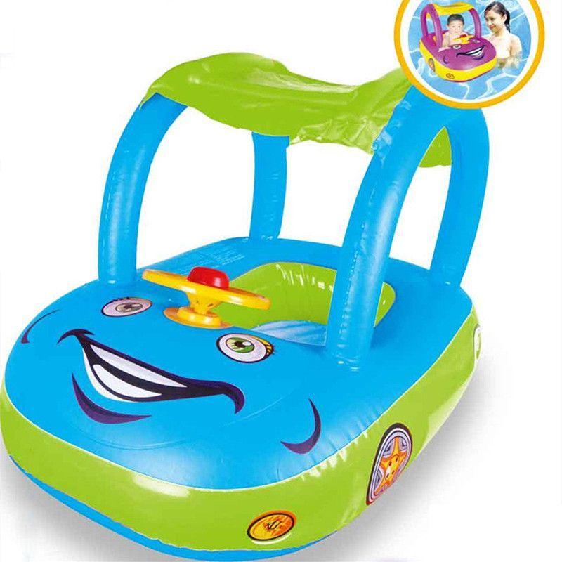 Baby Float Seat Car Sun Shade Baby Swim Inflatable Donut Ring Children Rubber Circles Flotador Swimtrainer  sc 1 st  Pinterest & Baby Float Seat Car Sun Shade Baby Swim Inflatable Donut Ring ...