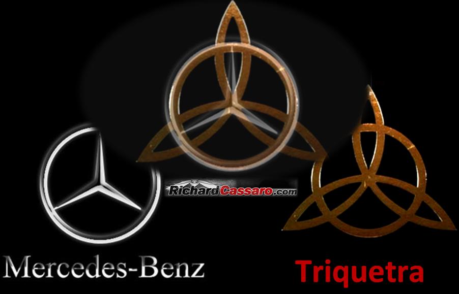 Mercedes Triquetra The Occult Symbolism Pinterest Triquetra