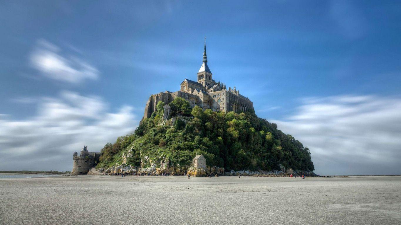 Mont SaintMichel, Normandy wallpaper Normandy france