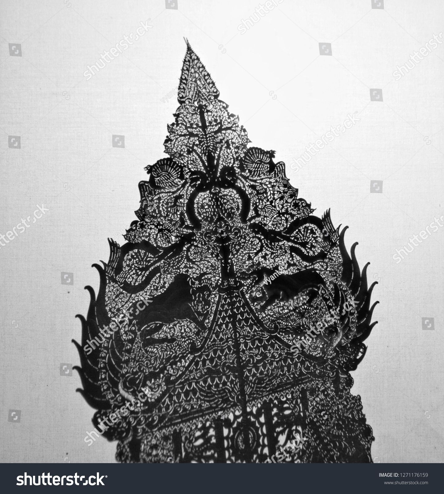 Wayang Indonesia Culture Wayang Arts Indonesia Bnw Background Stock Photos Royalty Free Stock Photos Royalty Free Photos