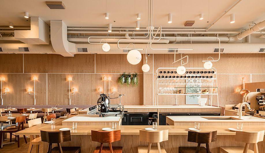 Vancouver interior design firm Ste Marie creates Savio Volpe a