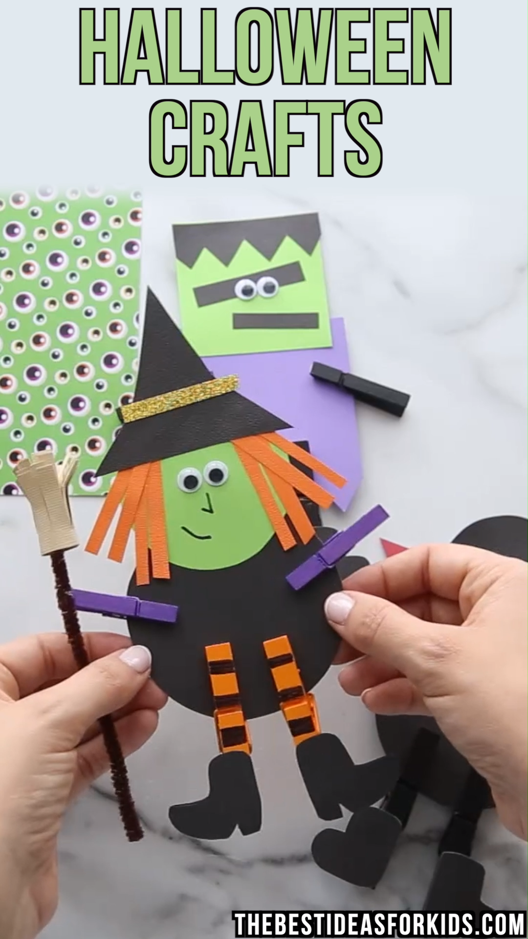 These Clothespin Halloween Crafts Are So - Kids Crafts