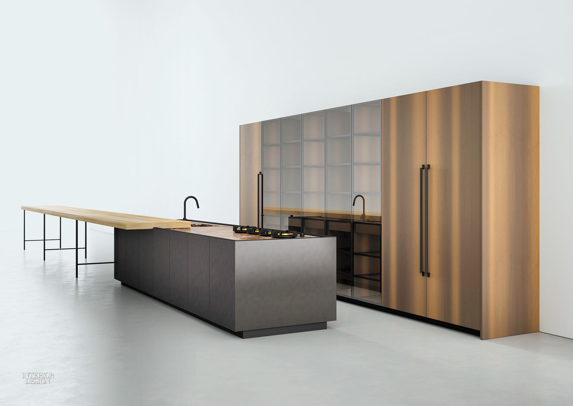 Norbert Wangen's Luxurious K21 Kitchen for Boffi Keuken