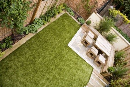 Low Maintenance Garden Design low maintenance gardens ideas low maintenance garden design using grass with retaining wall 800x600 Garden By Earth Designs Wwwearthdesignscouk I Like The