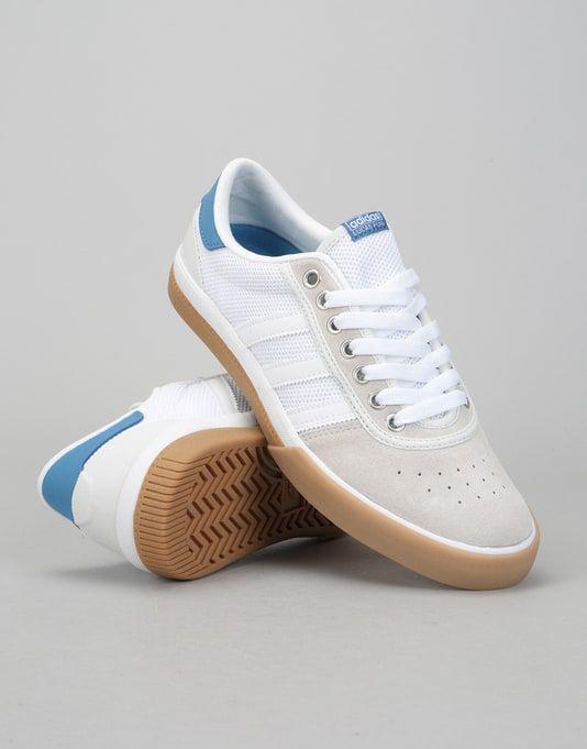 adidas lucas premiere pattinare scarpe bianco / traccia reale / gomma stile