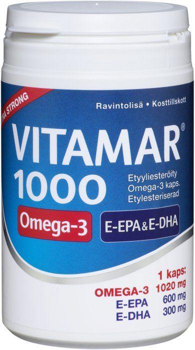 Vitamar 1000 VAHVA E-EPA kalaöljy
