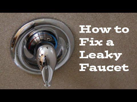 fix a leaky bathtub faucet