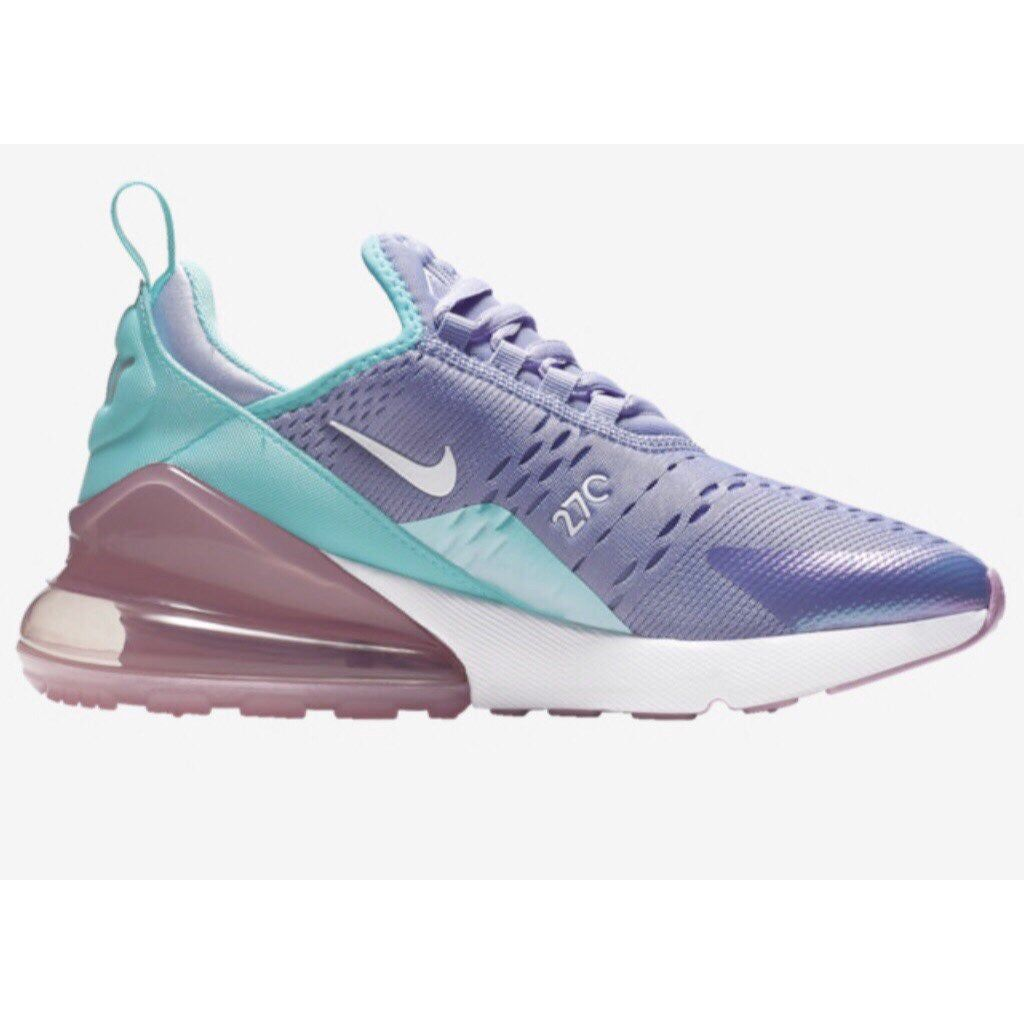 Kids size 11C Nike Air Max 270s in