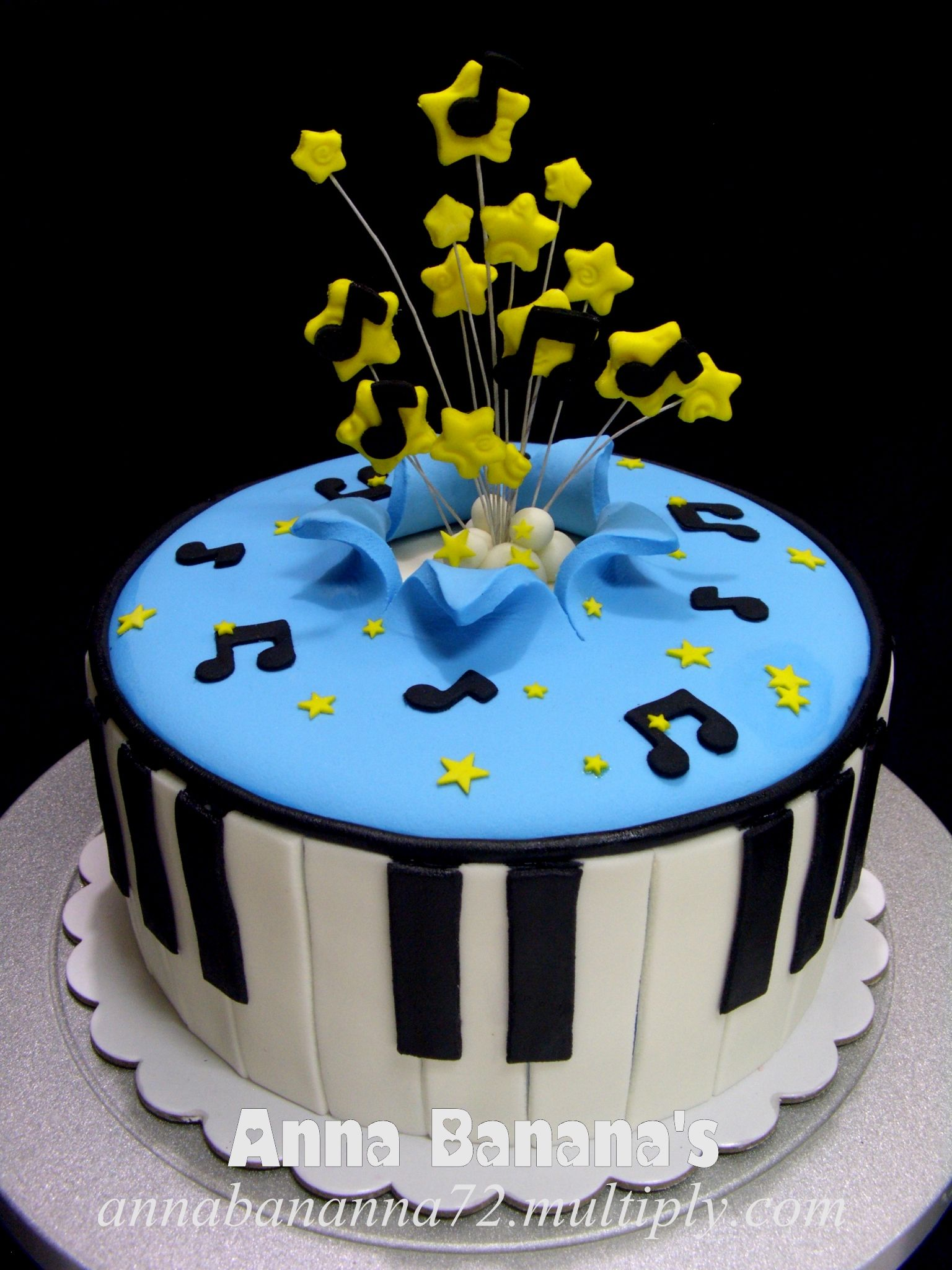 Need Pictures Of Birthday Cakes With A Musical Theme