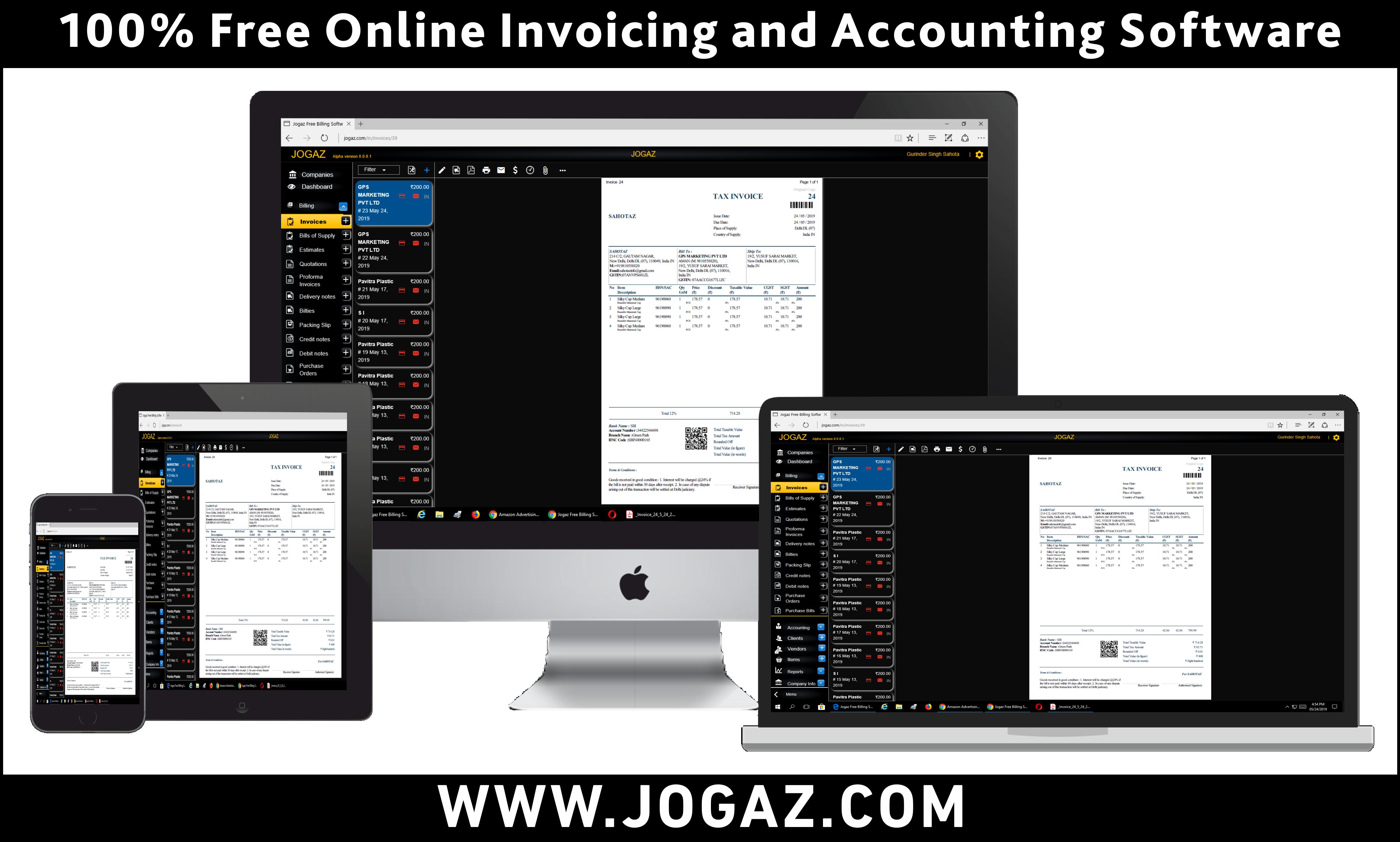 Billing Software Freeware Free Accounting Software Invoicing Software Accounting Software