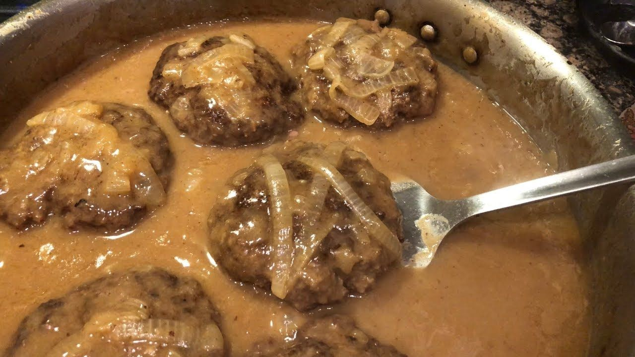 Hamburger Steak by The Cajun Ninja