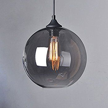 Cozyle vintage pendant hanging light glass shades grey bolig nips cozyle vintage pendant hanging light glass shades grey aloadofball