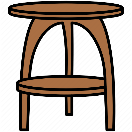 Desk Dining Furniture Interior Table Icon Download On Iconfinder Furniture Table Wooden Tables