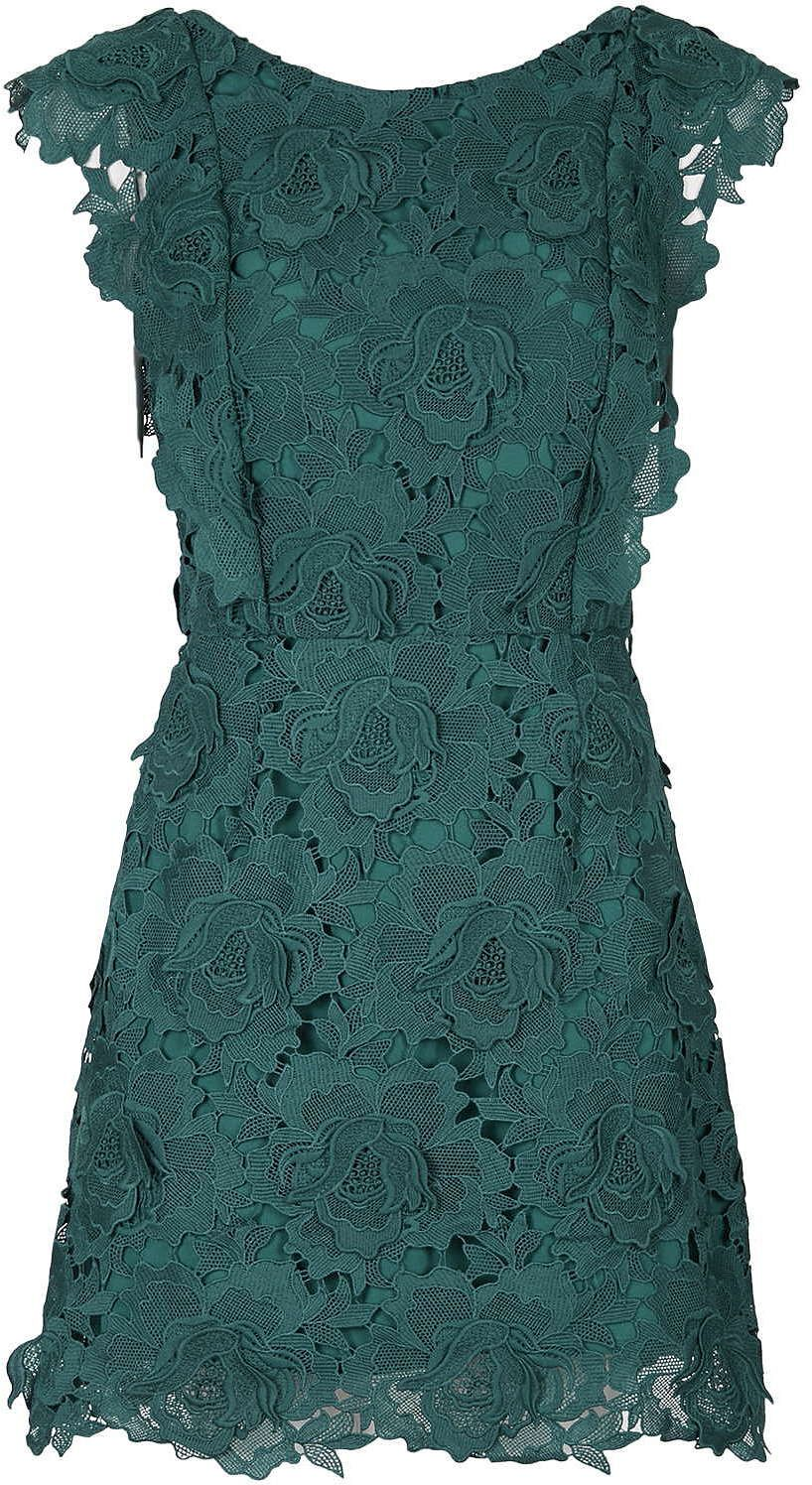 Bottle green lace for the colour! | Bridesmaid dress inspiration ...