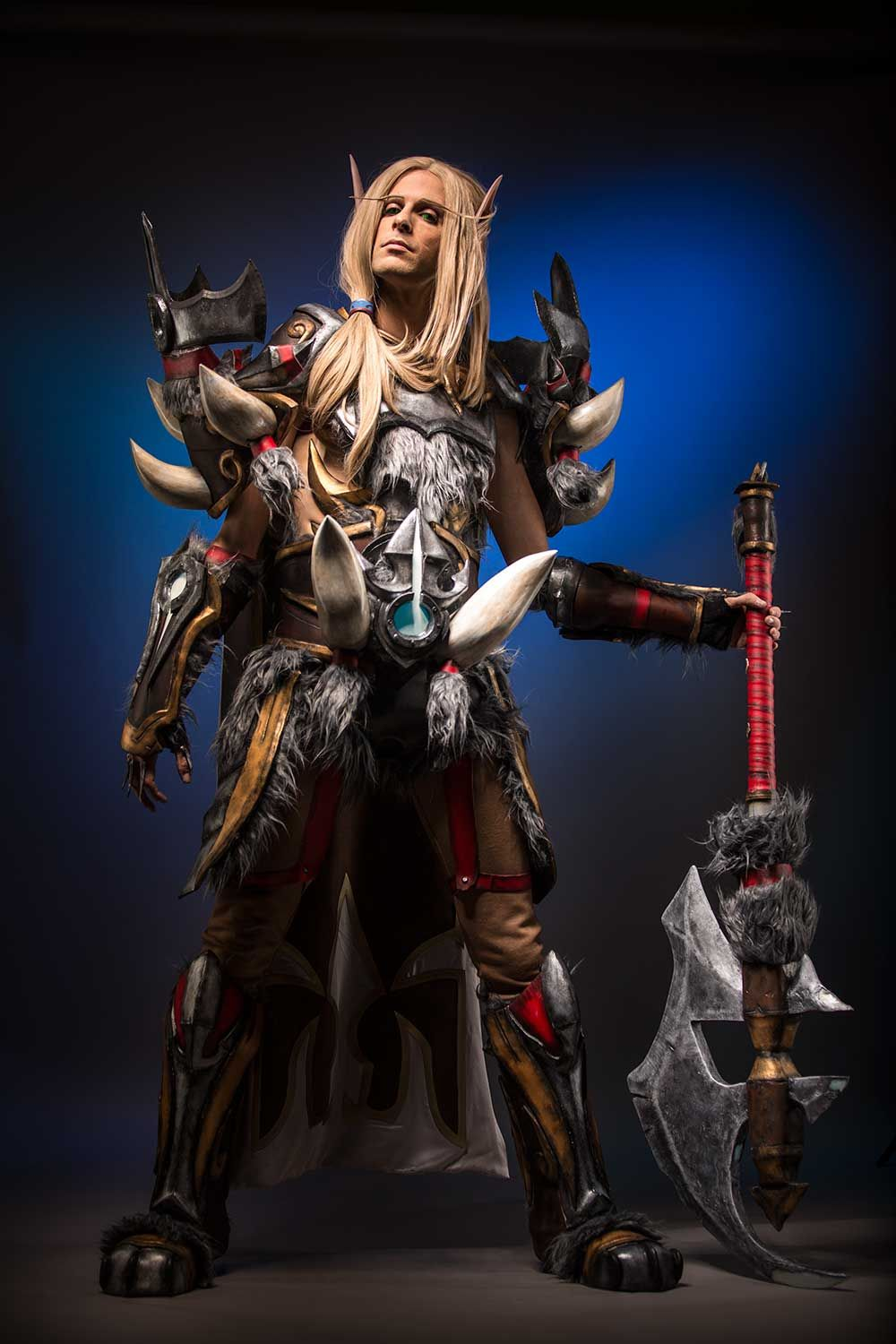 Legend Of Pandaria Blood Elf Warrior Cosplay By Imriel87