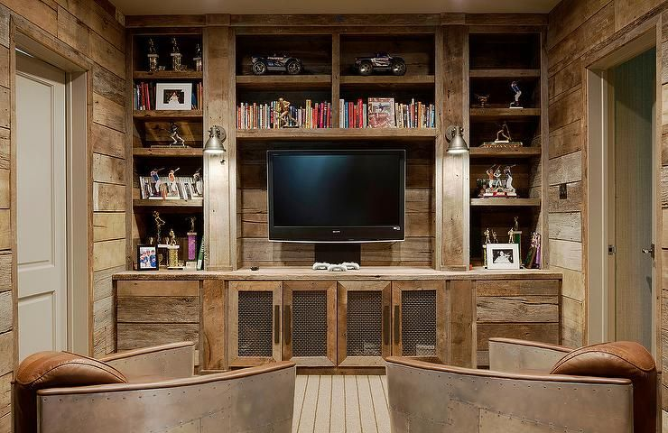 Restoration Hardware Aviator Chairs Built In Tv Unit