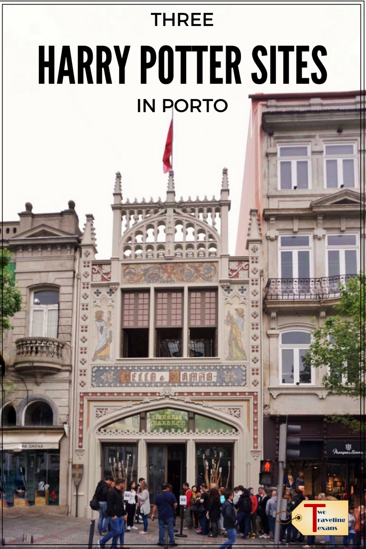 Learn about the connection between Harry Potter and Porto, Portugal by visiting three sites that may have influenced JK Rowling. | Travel via @2travelingtxns