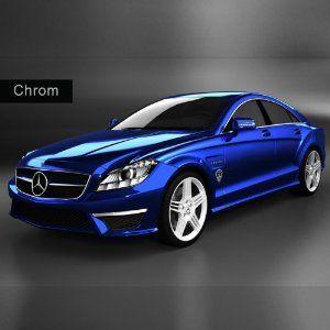 auto folie chrome blau blau blue pinterest autos. Black Bedroom Furniture Sets. Home Design Ideas
