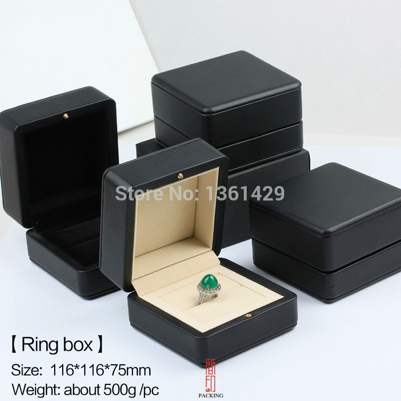 New high quality unique fashion jewelry gift box wooden ring box