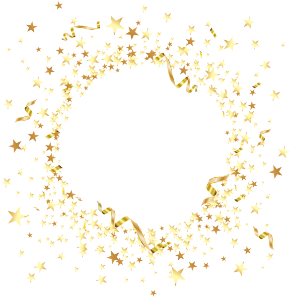 Round Element With Gold Stars Png Clip Art Gold And Black Wallpaper Gold Stars Blue Wallpaper Iphone