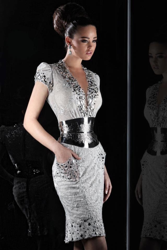 Rami Salamoun | Feminine dress, Dresses, Short dresses