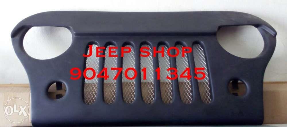 Jeep Cj Angry Bird Grill