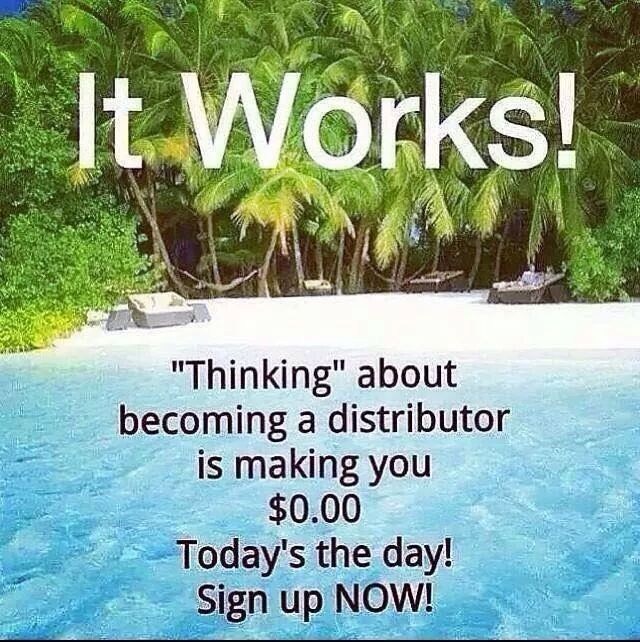 Just do it!! Earn $$ today! Carebearwraps.myitworks.com