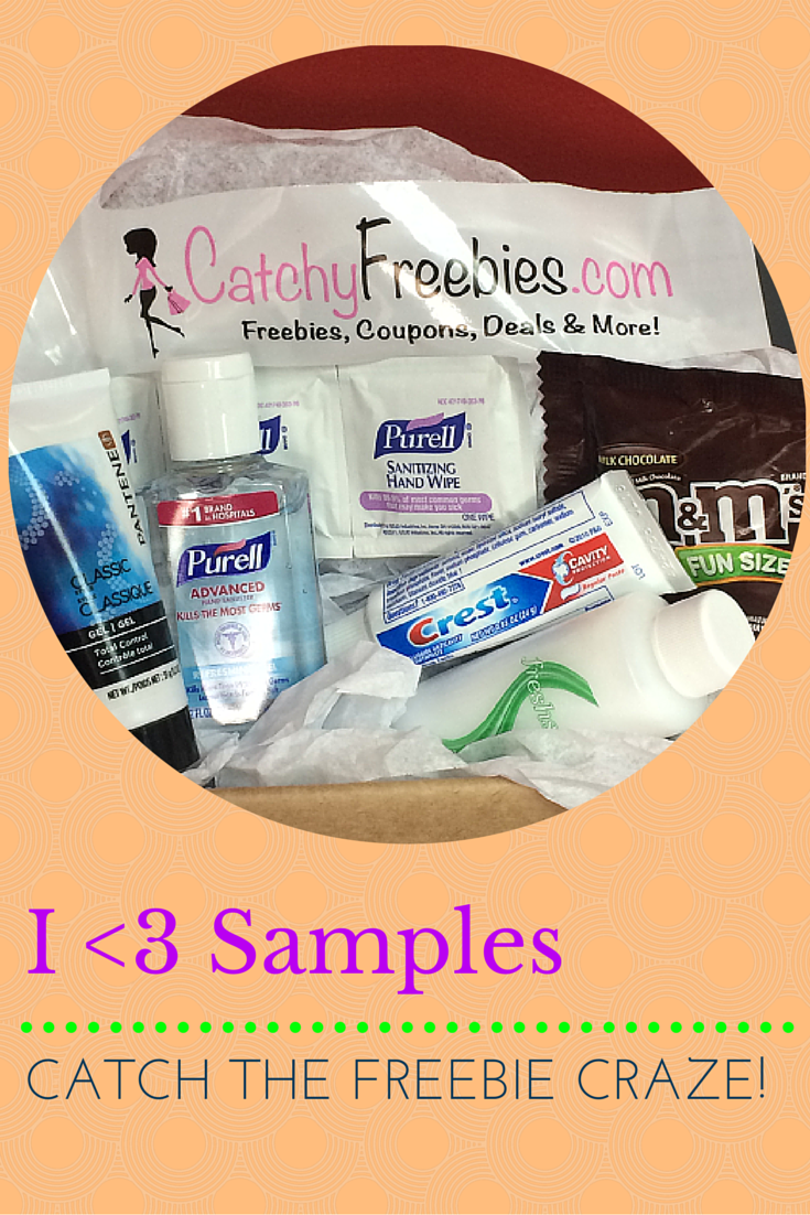 Do you Love Samples? CatchyFreebies members enjoy access