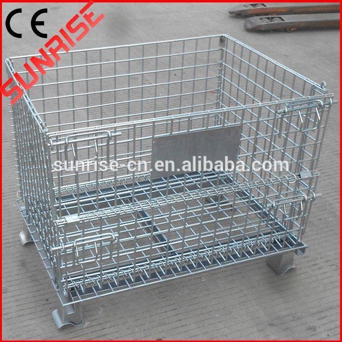 foldable galvanized wire mesh storage | Storage | Pinterest | Wire ...