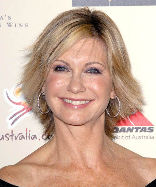 Pin By Debbie Mark Santy On My Fav People Olivia Newton John Short Hair With Layers Human Wigs