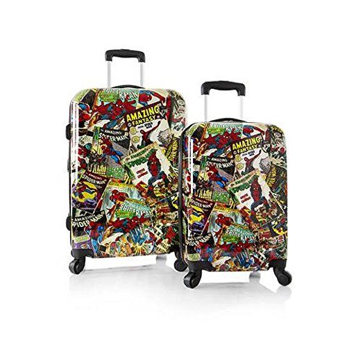 Luggage Sets Collections Heys Marvel 2 Piece Set Spiderman Want To Know More Click On The Image Note It Is Affil Marvel Luggage Spinner Luggage Sets Heys