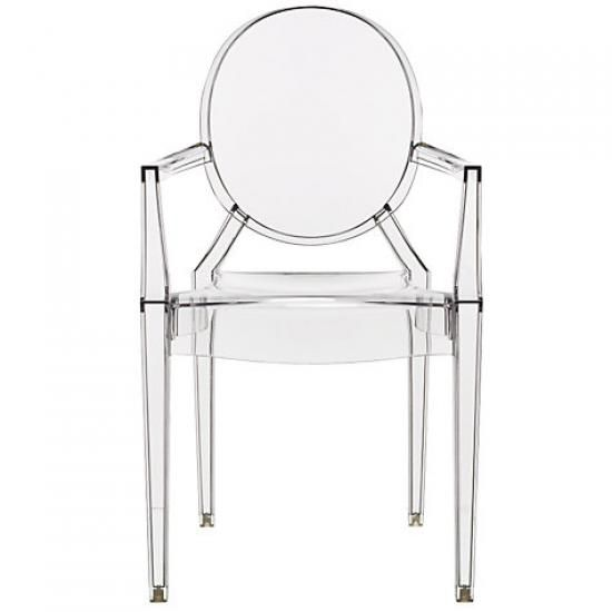 Found on OhLike: Philippe Starck for Kartell Louis Ghost Chair ...
