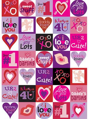 It's just a picture of Valentine Stickers Printable with search free