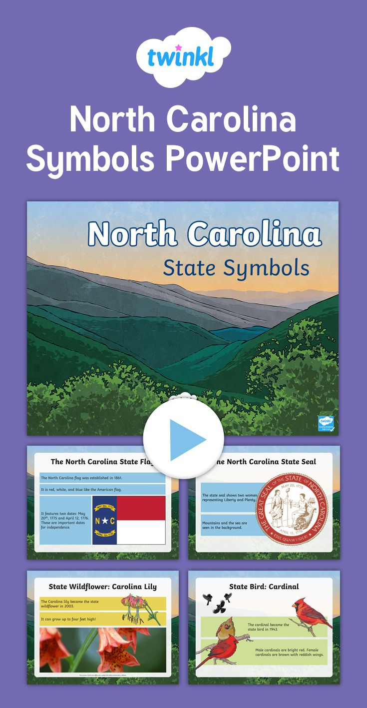 This powerpoint reveals many of the state symbols of north this powerpoint reveals many of the state symbols of north carolina learn about the state buycottarizona
