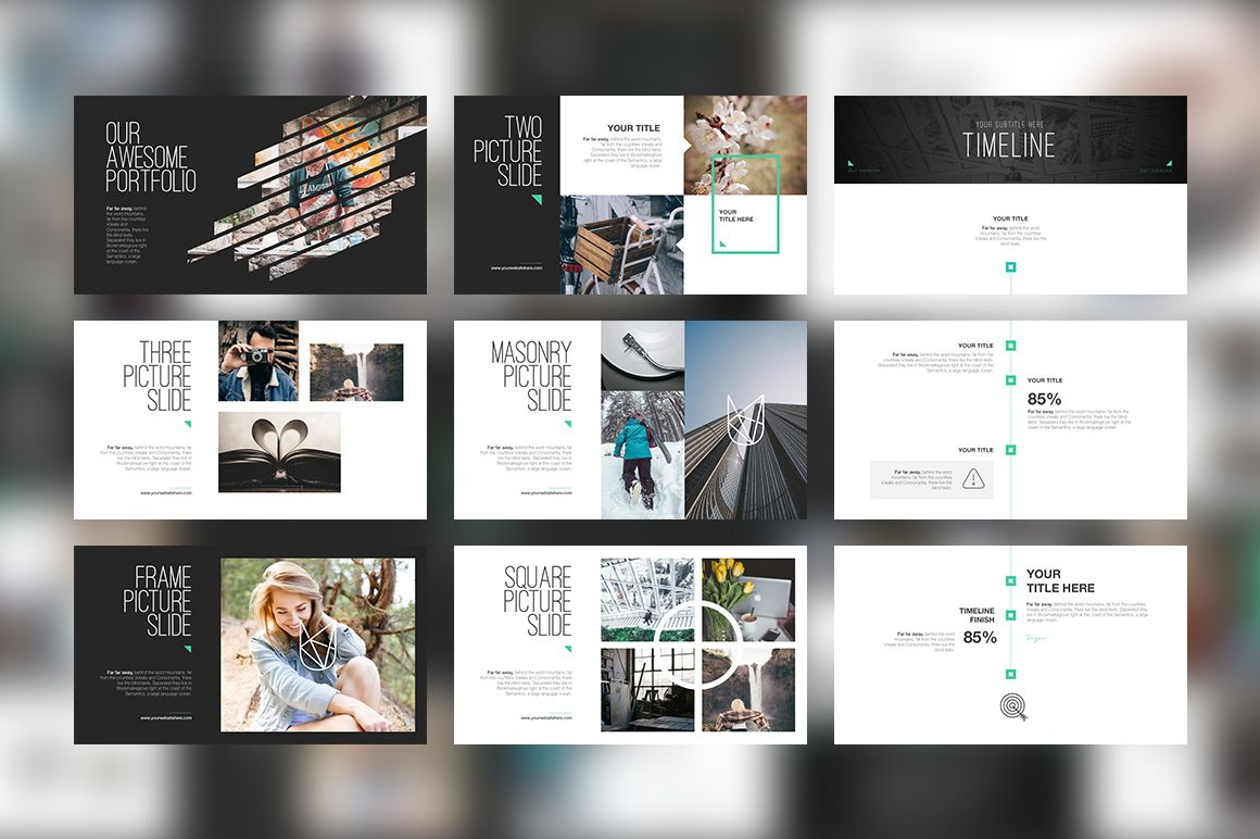 URAP PowerPoint Template by Angkalimabelas on @creativemarket | Web ...