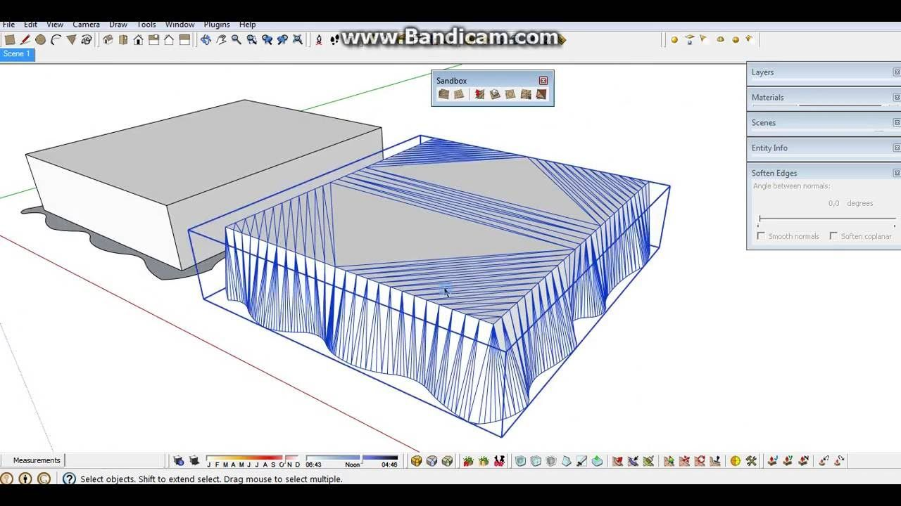 Sketchup Modelling Making Bed With The Most Simple Way Part 1