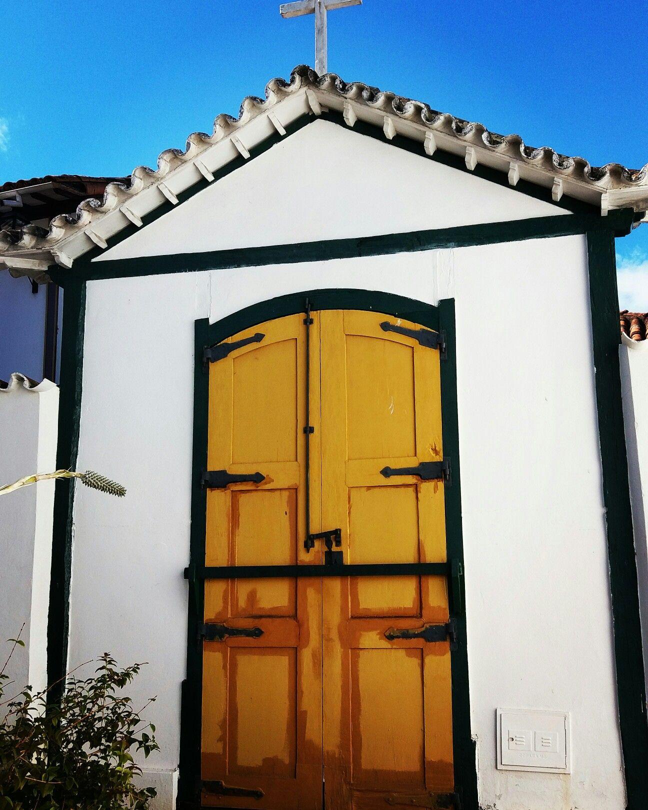 Fachada Capela Santa Quitéria, Casa de Chica da Silva, Diamantina - MG