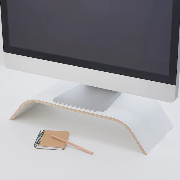 Sigfinn White Monitor Stand Fixed Height Ikea In 2020 Ikea Reinigungsmittel Ikea Deutschland
