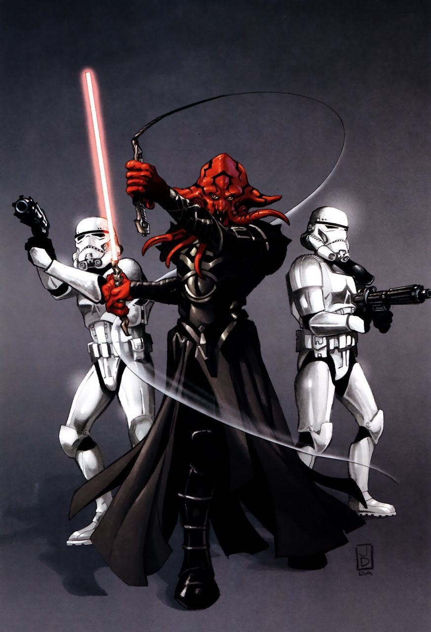 Darth Maleval Was A Male Quarren Sith Lord Of The One Sith Serving