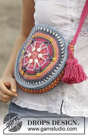 Kostenlose Häkelanleitung #crochetmandalapattern