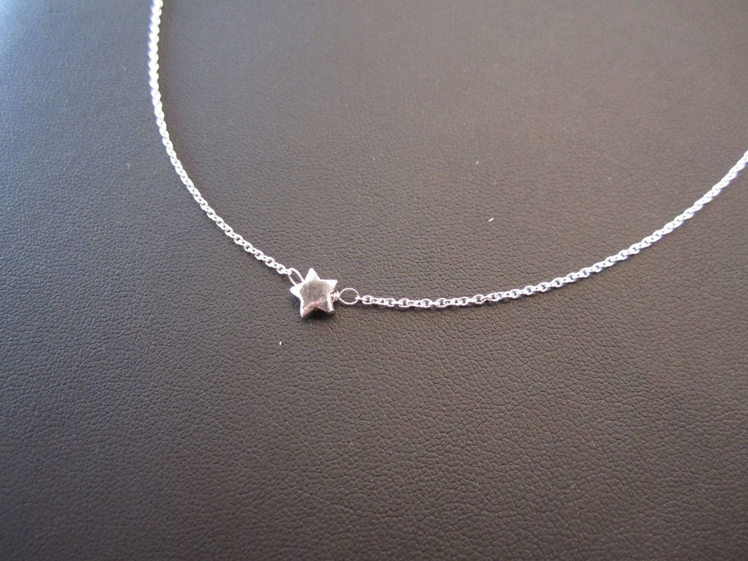 products star necklace tiny original sterling silver fullxfull il