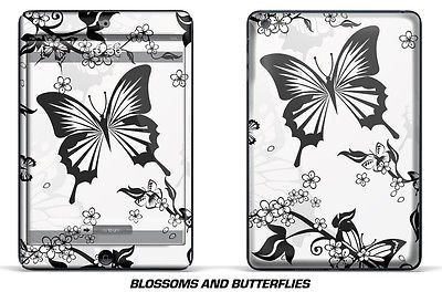 Custom i Pad Design Skin Sticker Decal Wrap for Apple iPad Mini Tablet BUTTERFLY