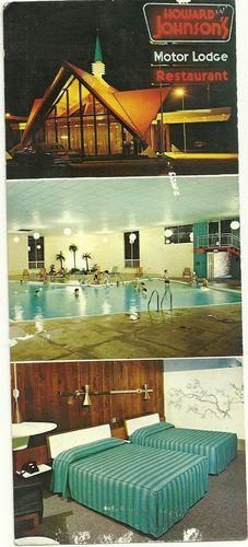 Howard Johnson U0026 39 S Motor Lodge And Restaurant Rockford Il