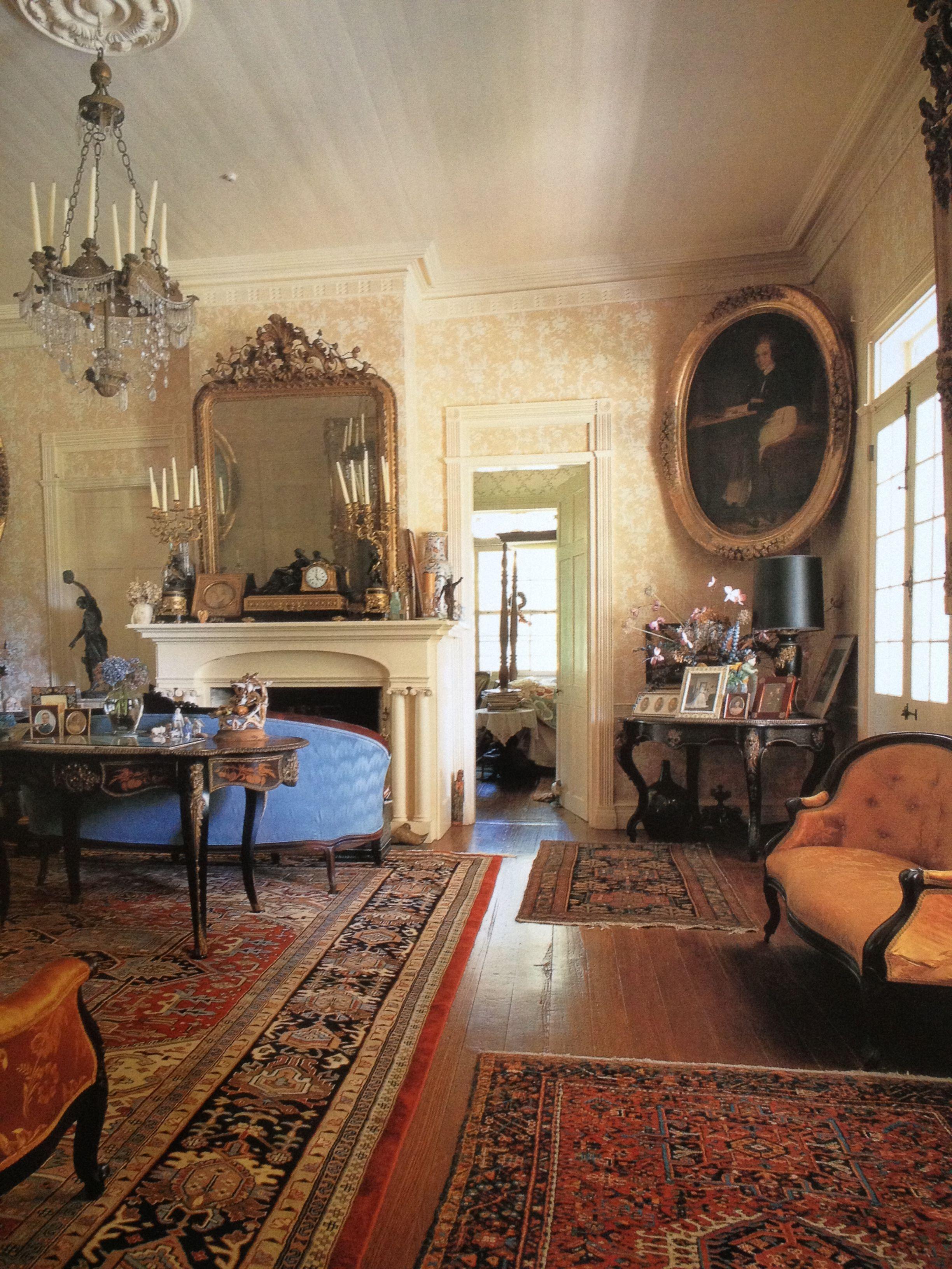 Parlange Plantation, Parlor Plantation Decor, Plantation Houses, Victorian  Rooms, Victorian Interiors,