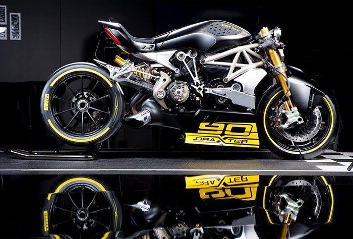 Cool Sport Racing Bikes By Chavi Sharma: The Bullitt: Ducati DraXter Concept